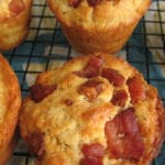 Cheese and pancetta breakfast muffins - quick and easy, ideal for a leisurely weekend breakfast.