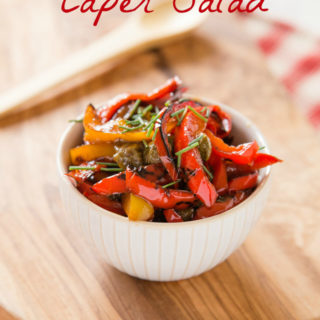 Recipe: Pepper and Caper Salad
