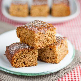 Easy Ginger Cake Recipe {Egg Free, Dairy Free}