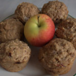Spiced Apple Bran Muffins