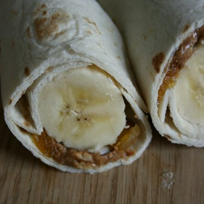 Banana Breakfast Wrap