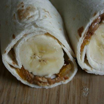 Banana Breakfast Wrap