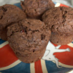 Double Chocolate Orange and Cranberry Muffins (AKA Sue's Muffins)