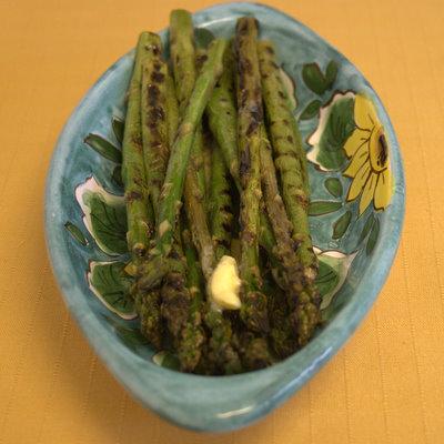 Griddled Asparagus 1