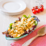 This easy healthy Coronation Chicken recipe is simple to make, delicious and lighter than the traditional recipes, with no compromise on taste