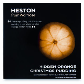 Waitrose Heston Hidden Orange Christmas Pudding Review