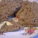 Cranberry & Oat Sourdough Scones – Fresh From the Oven