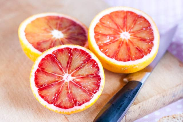 it is the pigments such as anthocyanins which give blood oranges their distinctive colour