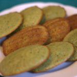 Matcha and Sesame Madeleines
