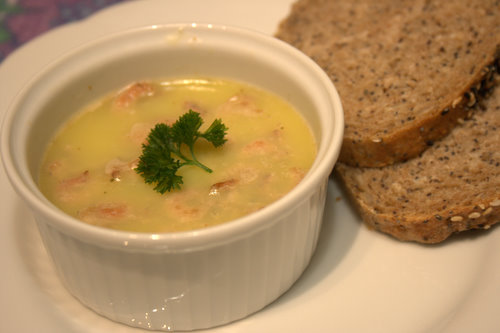 Potted Shrimps (Serves 2 generously)