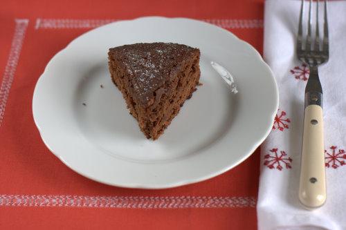 Chocolate marmalade cake recipe