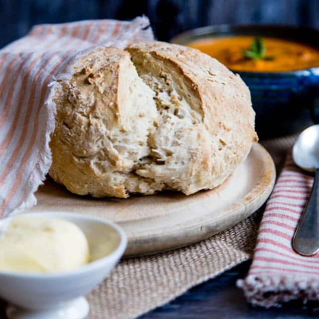 Emergency No Yeast Bread A Delicious Loaf You Can Bake