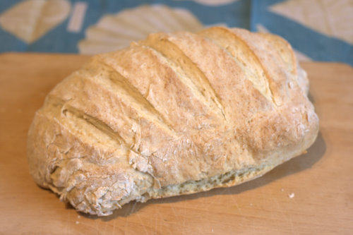 Emergency Bread - no yeast bread recipe for when you are in a hurry