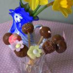 Floral Spring Cake Pops for Mothering Sunday