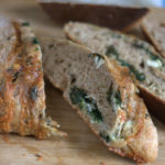 Brie and spinach bread