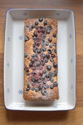 Oatbake with Berries from the Nordic Bakery
