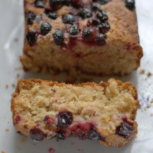 Slice of Nordic Bakery Berry Oatbake