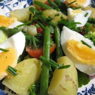 A Simple Garden Salad Starring Jersey Royals