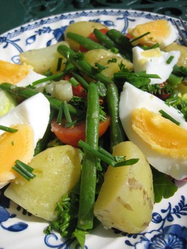 Jersey Royal Salad