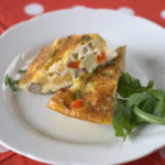 Recipe: Red Pepper & Chickpea Frittata