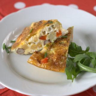 Recipe: Red Pepper & Chickpea Frittata