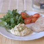 Anchovy and butter bean hummus