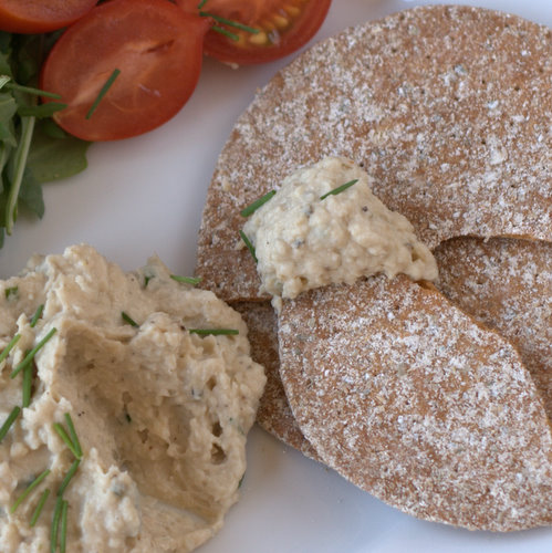 anchovy and butterbean hummus