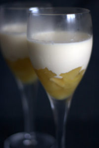 Apple, lemon & Lime Possets