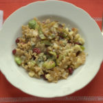 Christmas Leftovers – Recipe: Chestnut, Cranberry, Stilton & Sprout Pasta