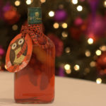 Christmas spiced vodka