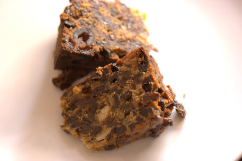 Sainsburys Taste the Difference Christmas Cake Slice