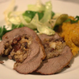 Recipe: Welsh Lamb Stuffed with Ginger & Cranberries and My First Pained Attempt at Video
