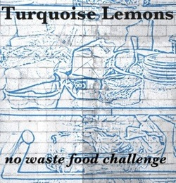 turquoise lemons no waste food challenge