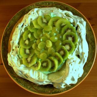 Recipe: Green Pavlova for St Chad