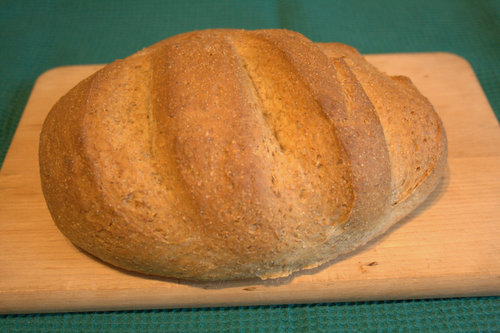 Rye loaf whole