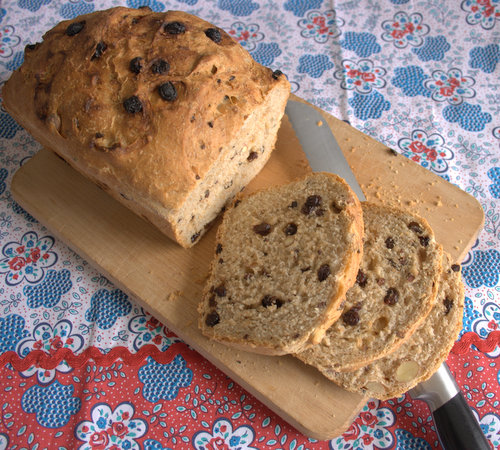 Almond, Raisin & Chocolate Loaf