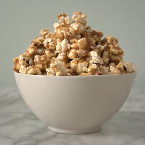 Bowl of Speculoos popcorn