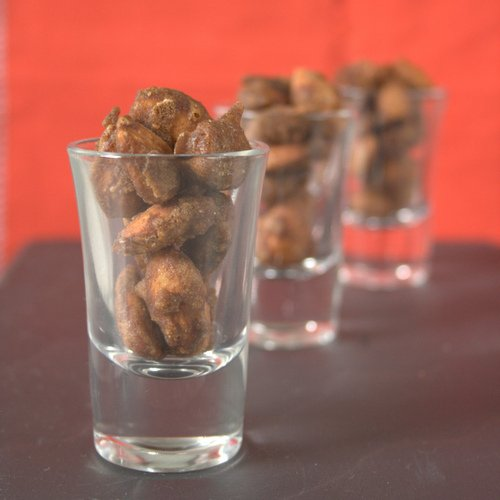 Homemade coffee candied almonds are delicious served after dinner with an espresso, or make a perfect holiday gift