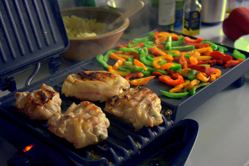 Recipe: Lemony Maple Chicken Thighs with Sticky Pepper ...