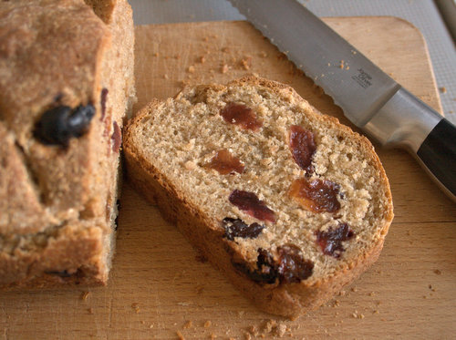 Heritage wheat loaf with crimson raisins