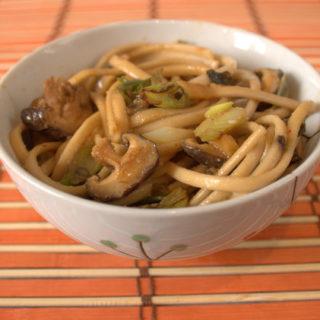 Seaweed & Shiitake Noodles