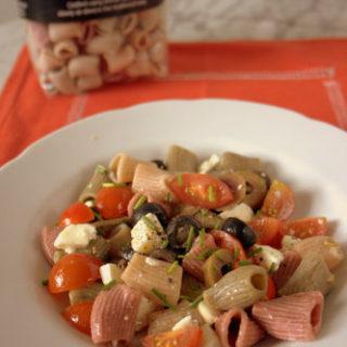 """Recipe: Greek """"Salad"""" Pasta"""