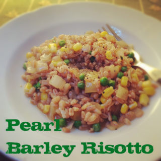 Frugal Pearl Barley Risotto or Orzotto