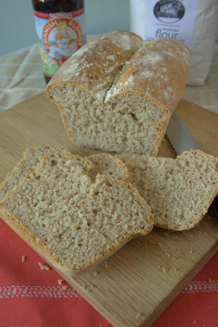 Local Lammas Loaf sliced