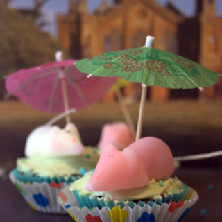 Weather Cupcakes Or How Sugar Mice Can Go Out In The Rain