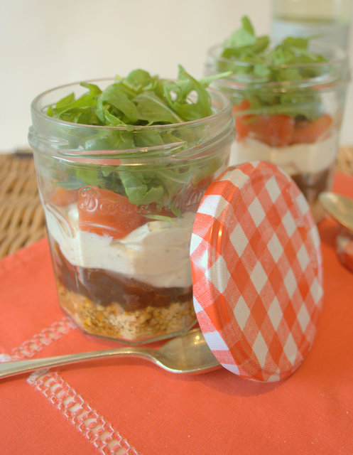 Goats Cheese Picnic Jar