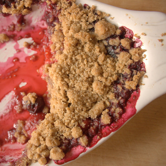 Swedish Berry Pie Leftovers