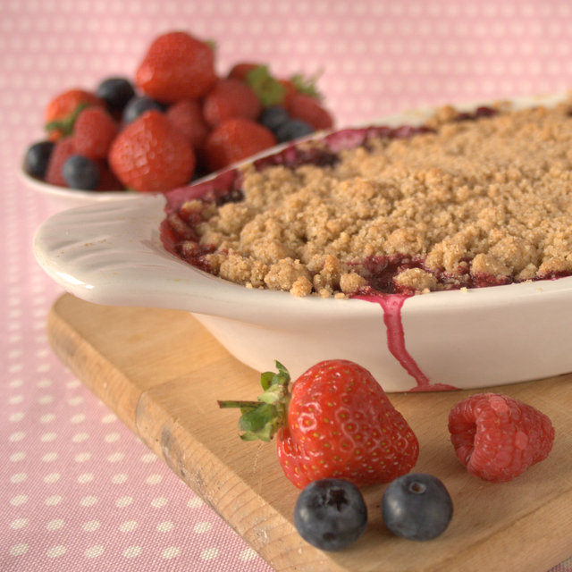 Swedish Berry Pie