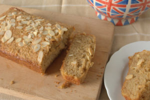 Spiced Apple, Almond and Polenta Cake