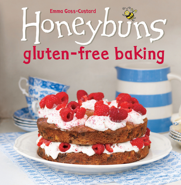 Honeybuns gluten free baking book cover